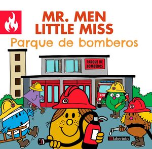 MR. MEN LITTLE MISS PARQUE DE BOMBEROS