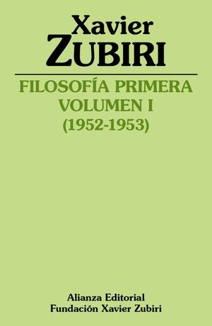 FILOSOFIA PRIMERA (1952-1953)