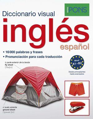 DICCIONARIO PONS VISUAL INGLES/ESPAÑOL