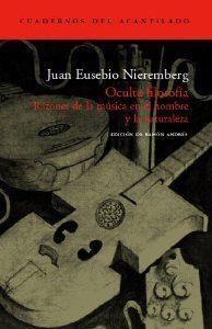 OCULTA FILOSOFIA. RAZONES DE LA MUSICA EN EL HOMBRE Y LA NATURALEZA