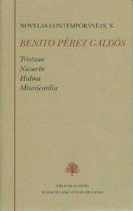 NOVELAS CONTEMPORANEAS BENITO PEREZ GALDOS