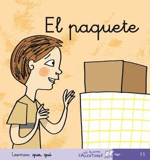 EL PAQUETE (MIS PRIMEROS CALCETINES)