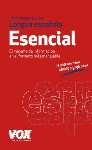 DICC ESENCIAL LENGUA ESP